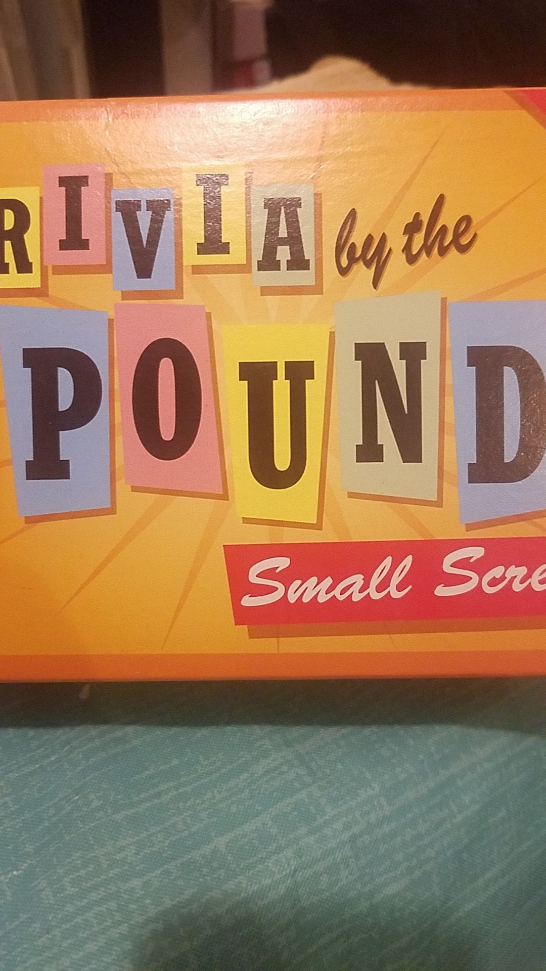 Trivia by the pound small screen