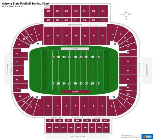 Arizona State ASU Colorado Football Tickets