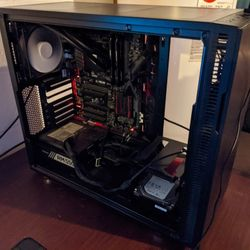 Monitor and Computer - Intel i7 4790k - 16GB RAM - 3TB HDD + 256GB SSD Thumbnail