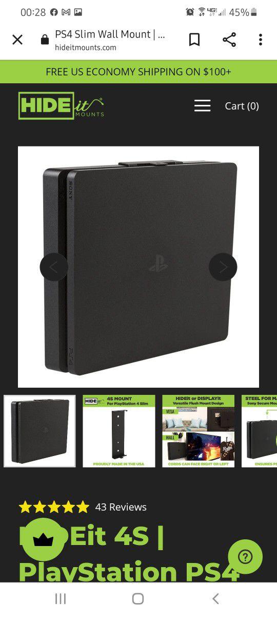 HIDEit PS4 Wallmount.