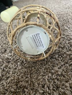 Pineapple candle wicker Thumbnail