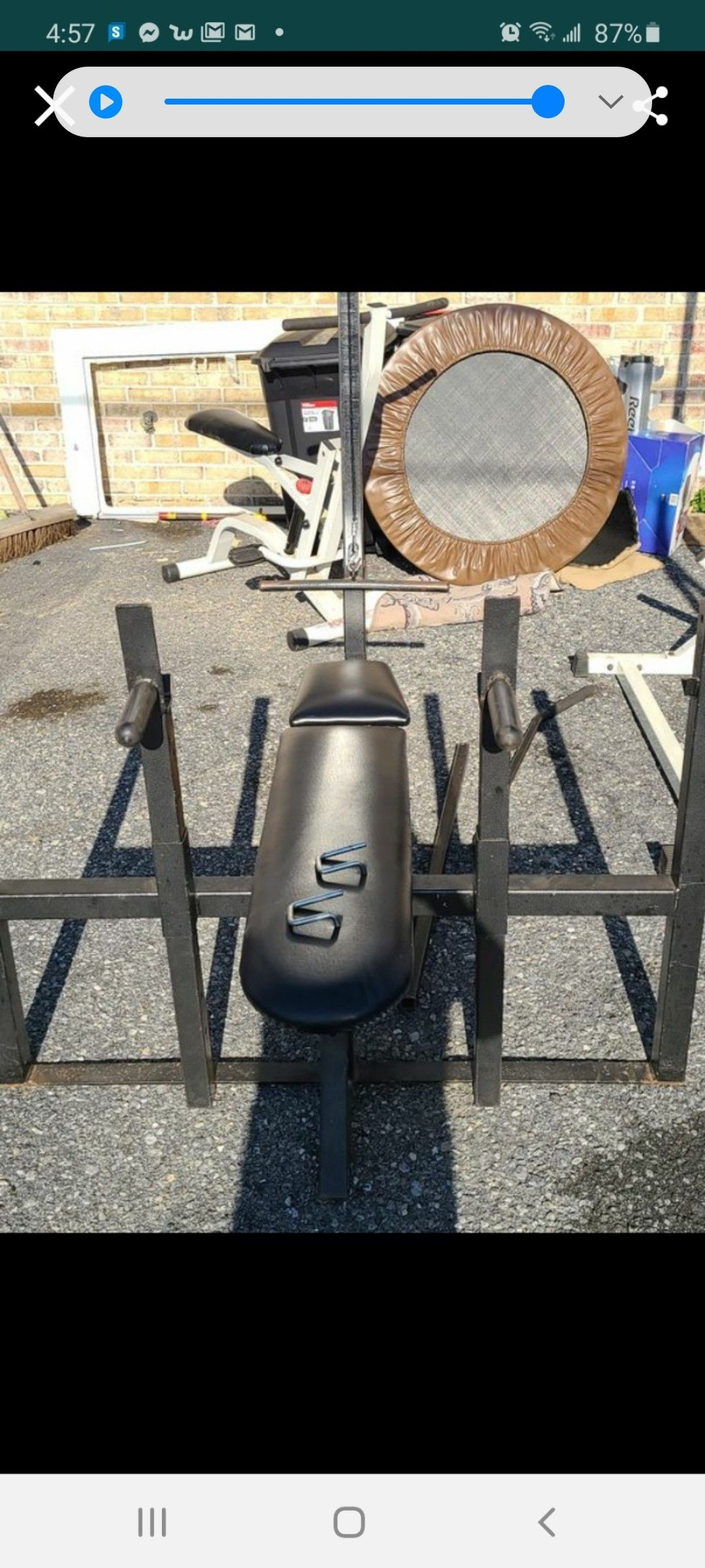 Olympic complete weight set