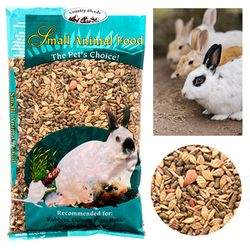 1lb Small Animal Food Bunny Rabbits Nibble Guinea Pigs Gerbils Hamsters Treats Thumbnail