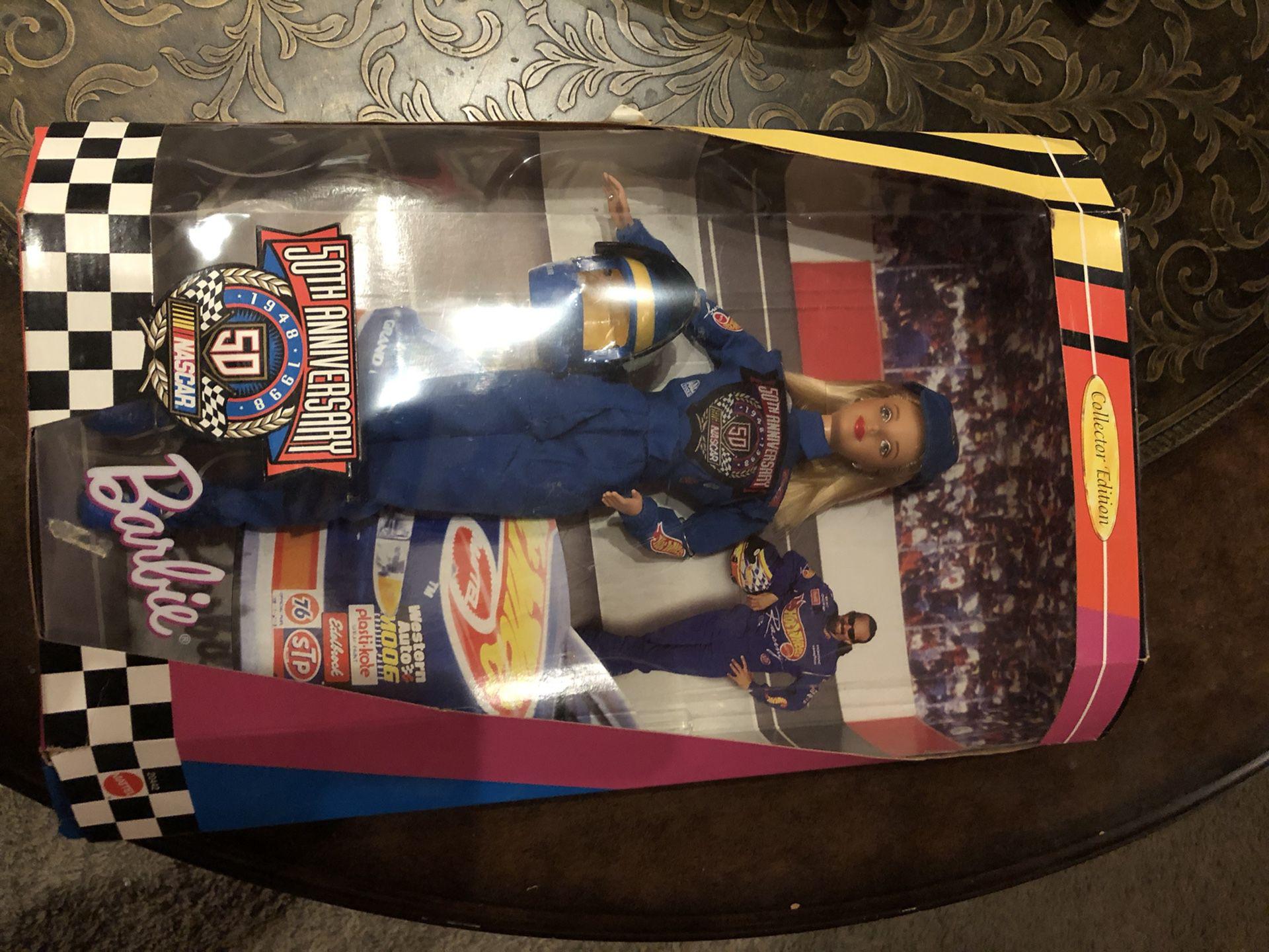 NASCAR collectors edition Barbie
