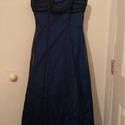 """Stunning Blue A Line Ball gown Prom Dress """"starry Eyed"""" Thumbnail"""