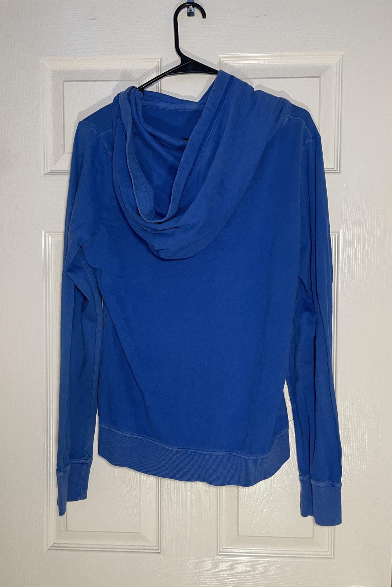 Hollister Blue Hoodie/TShirt Size Large