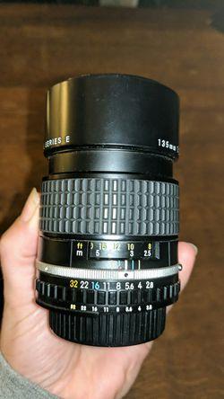 Nikon EM film camera + accessories Thumbnail