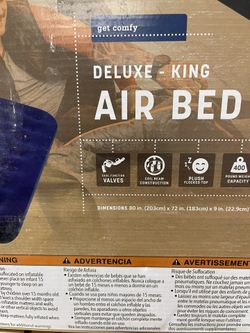 Stansport Deluxe Air Mattress Bed, King Size Thumbnail