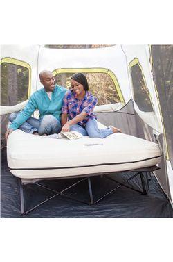 Coleman Camping Cot, Air Mattress, and Pump Combo  Thumbnail