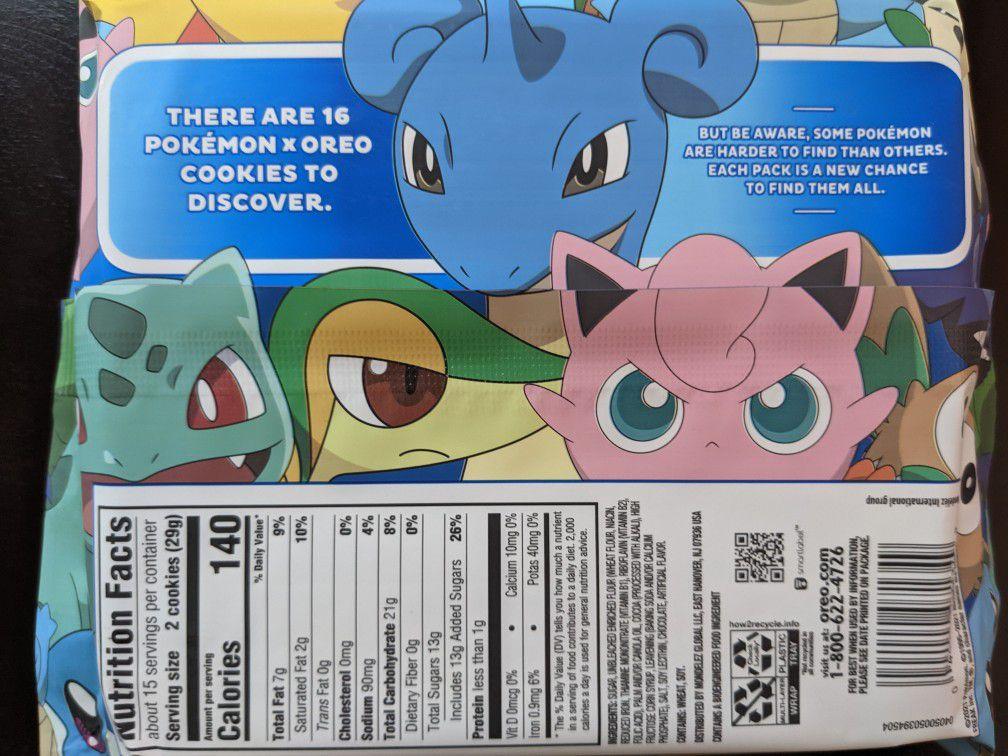 limited edition pokemon oreos