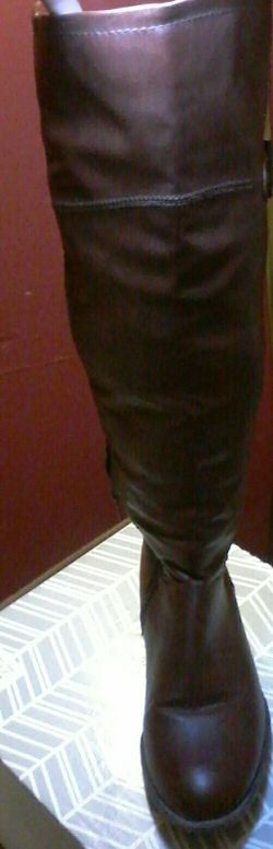 Aldo brand brown boots; Size 8 Thumbnail