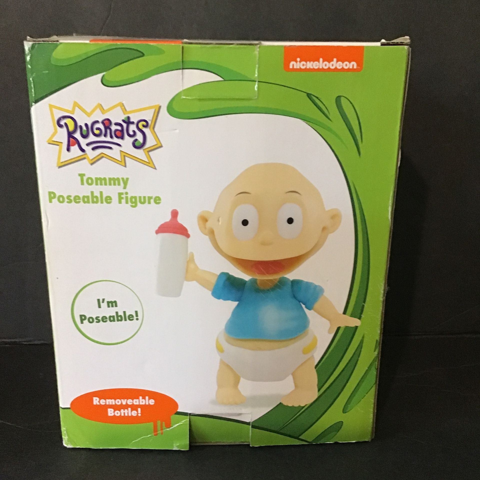 Nickelodeon Just Play - Rugrats Tommy Collectible Figure (Brand New)