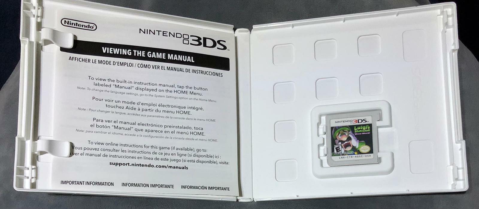 3Ds Luigi's Mansion (Game)