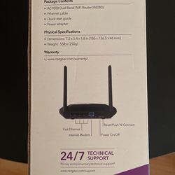 Net gear Ac1000 Dual Band Wifi Router Thumbnail