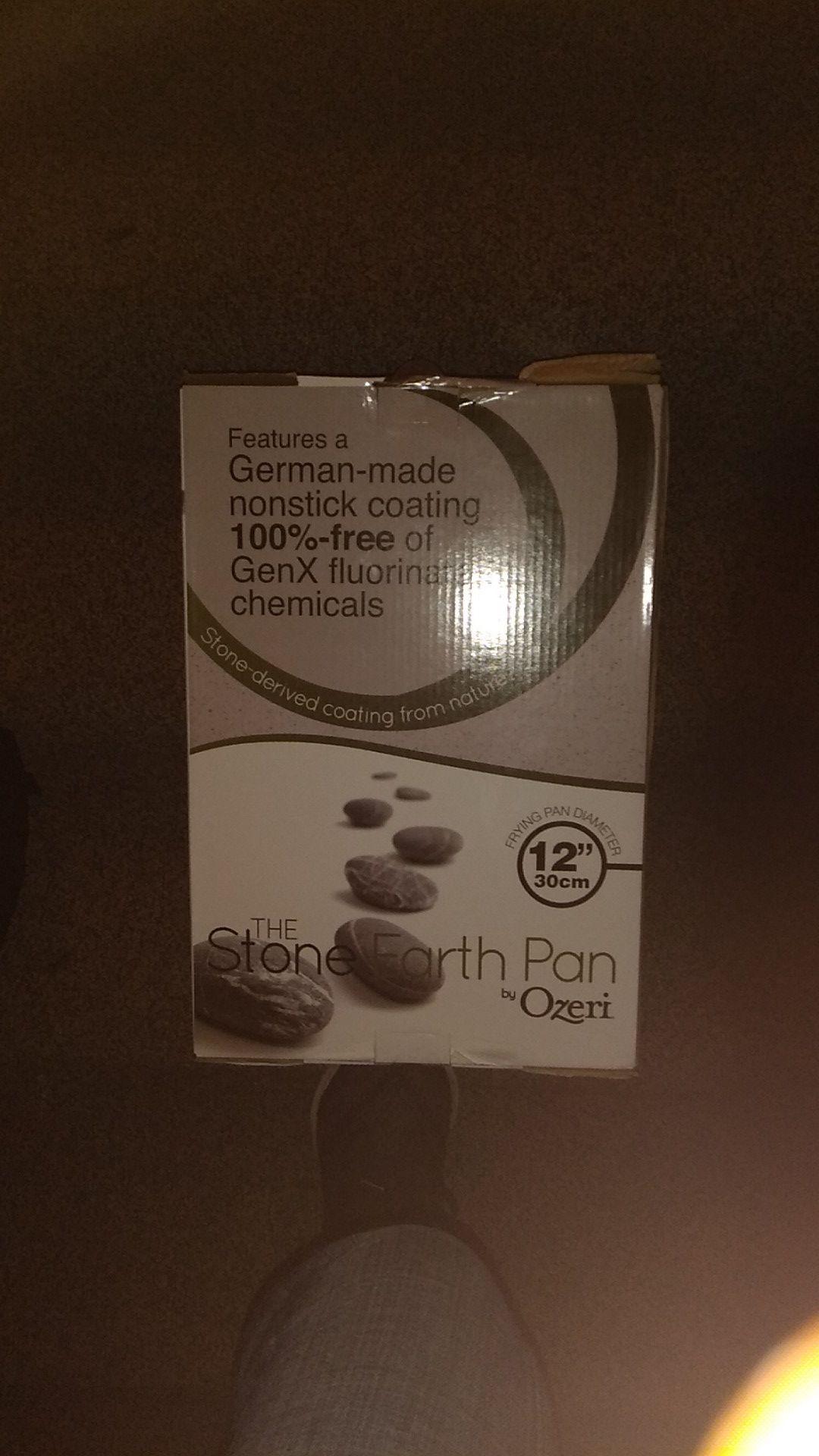 "Ozeri 12"" stone frying pan"