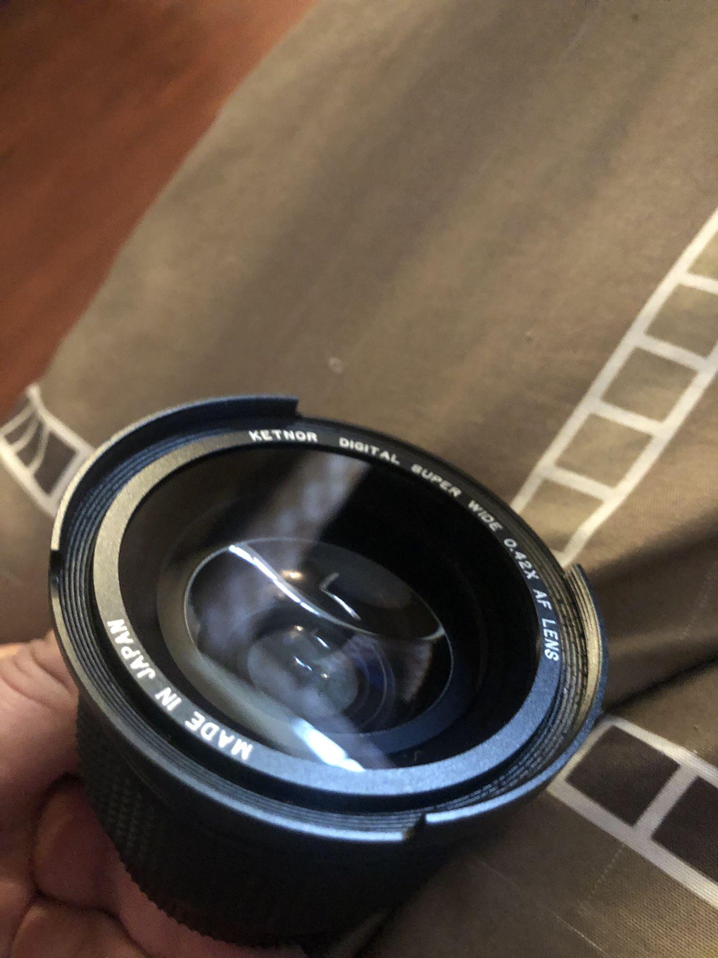 Ketnor Digital Super Wide 0.42x Macro