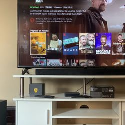 55 Inch Tv 4K Smart And Sound System With It Thumbnail