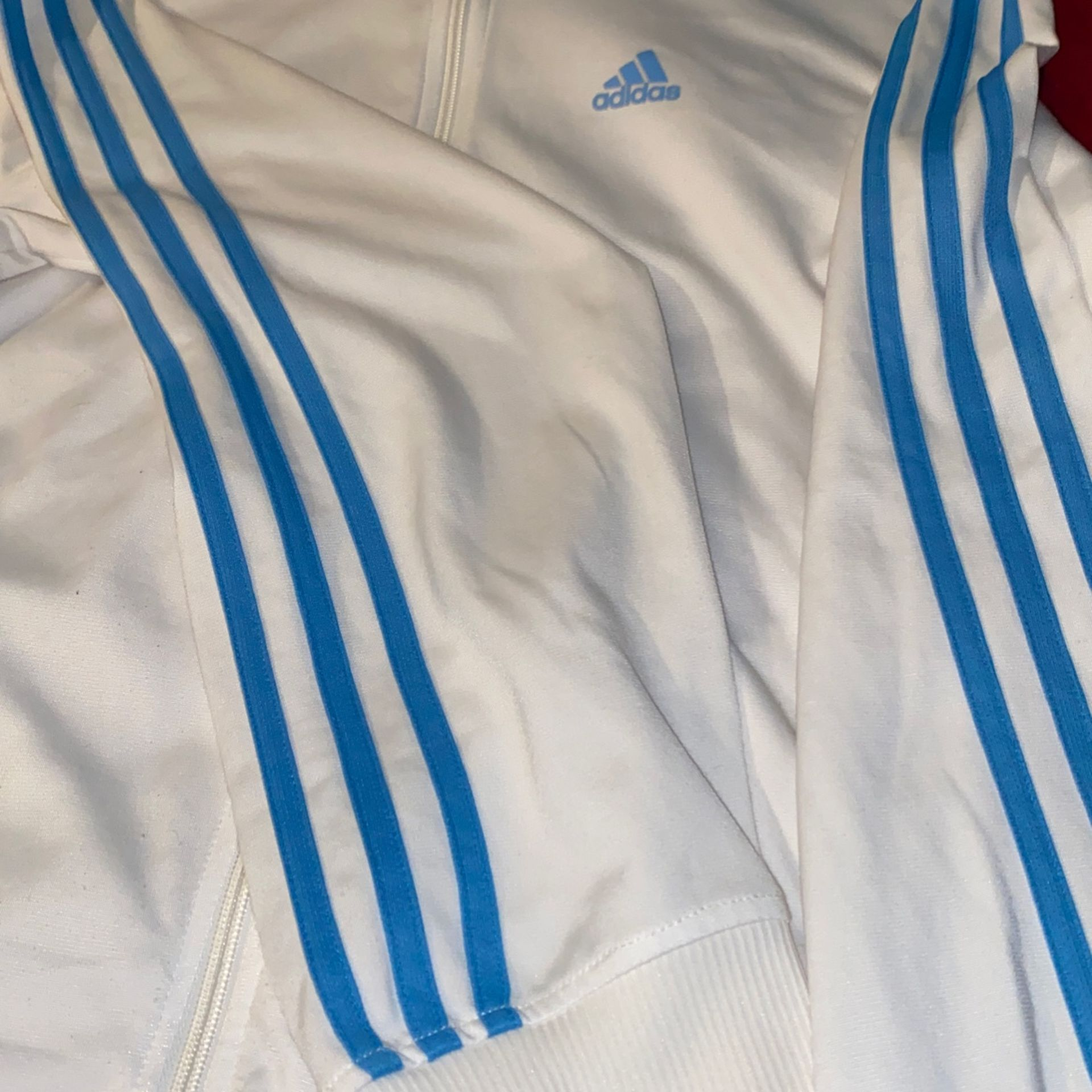 Climate Wire/Blue Adidas Track Jacket