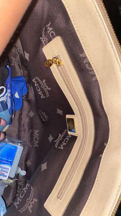 MCM Viesto Tote Bag, Gold Thumbnail