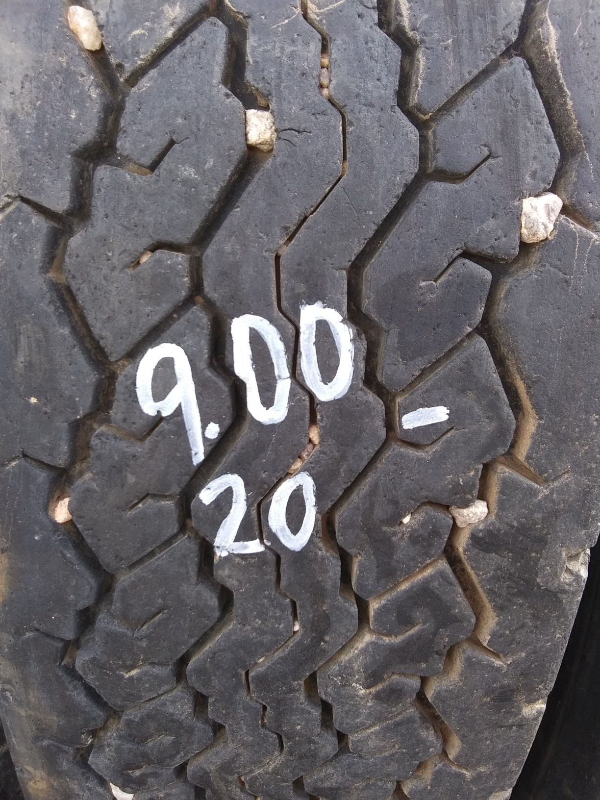 9.00-20 four tractor tires w/inner tubes $40each