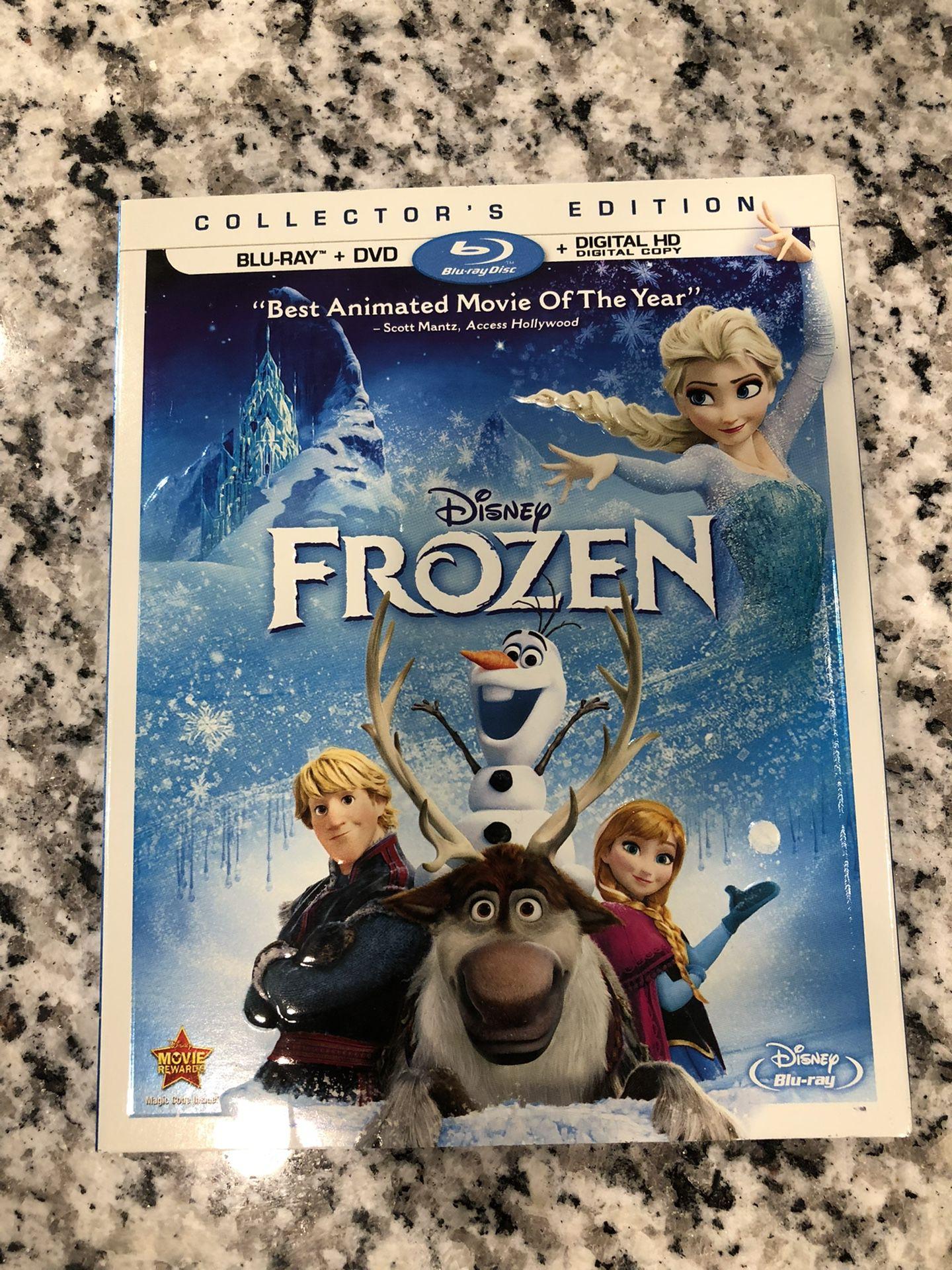 Frozen Bluray/Dvd