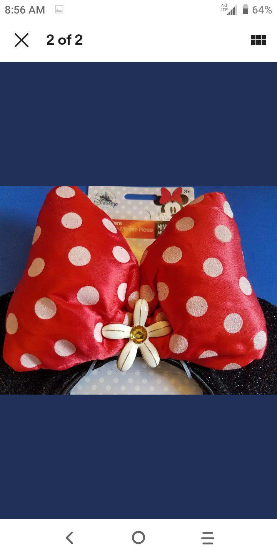Disney's Minnie Mouse Ears And Headband