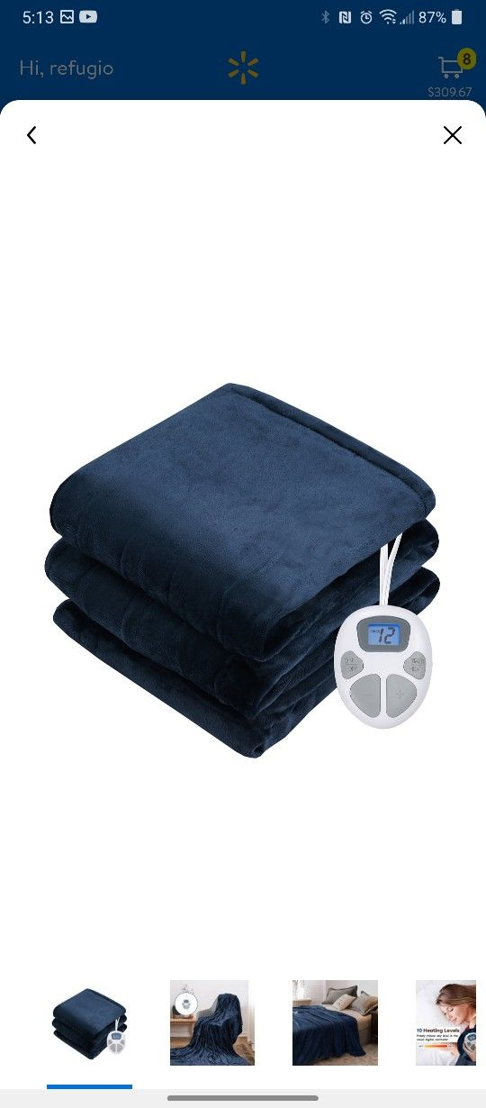 All New Electric Blanket