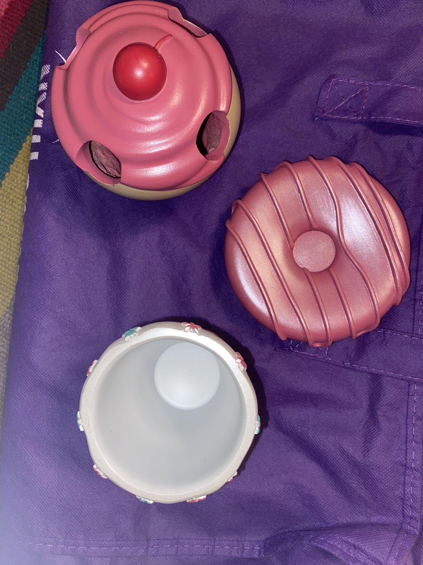 Cupcake Bathroom Accessories Set