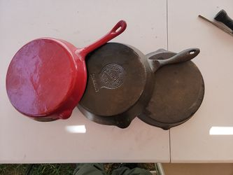Cast Iron  Skillet  Fry  pan Set  Thumbnail