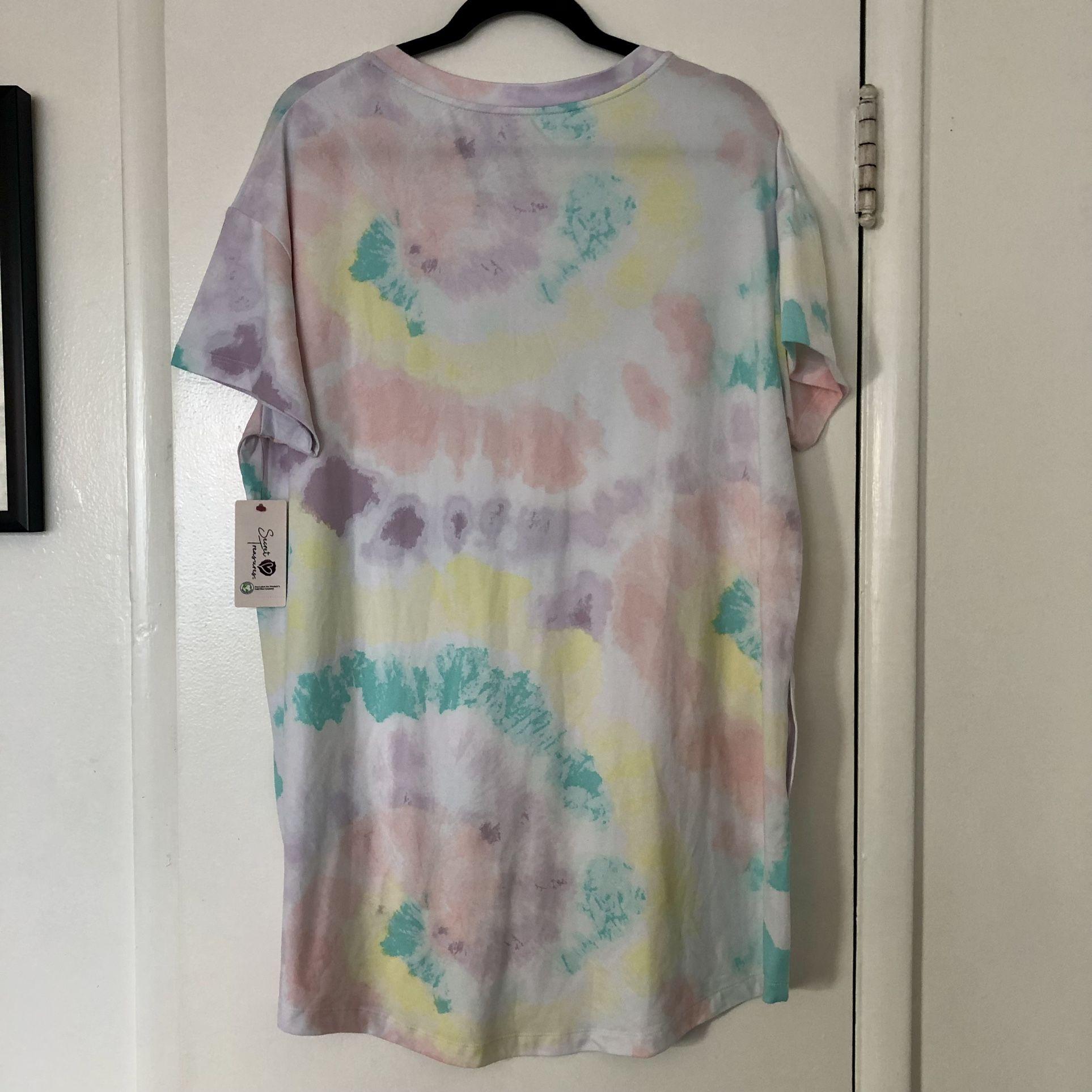 NWT Tie Dye Nightgown