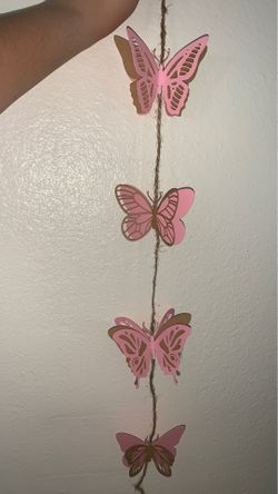 Butterfly String Garland Thumbnail