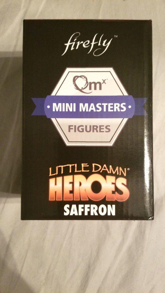 Firefly Saffron Figurine