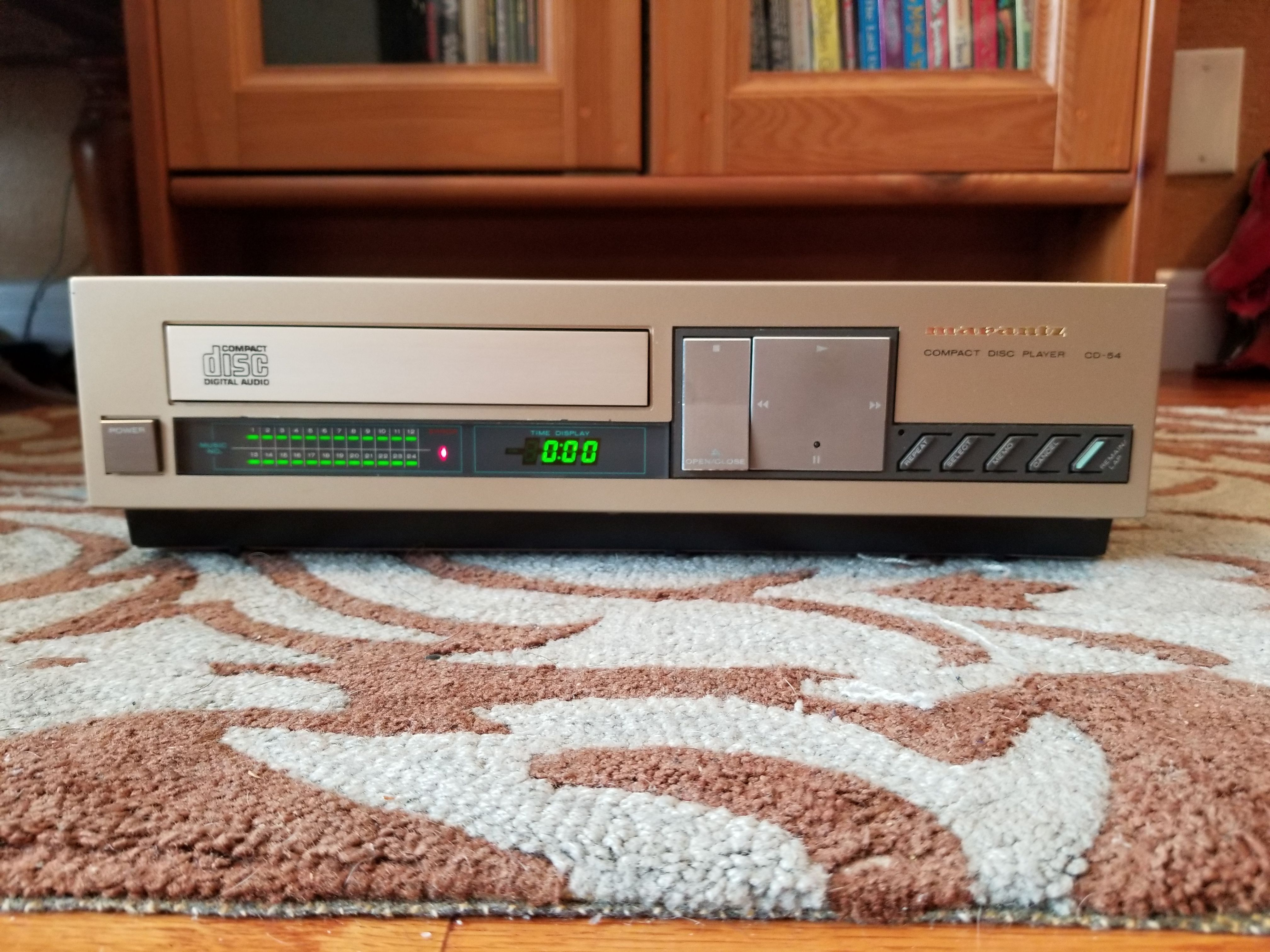 Marantz CD-54 Compact Disc Player