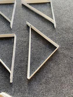 10 shelf brackets white Thumbnail