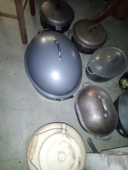 Cast Iron Cookware---- More Added On Thumbnail