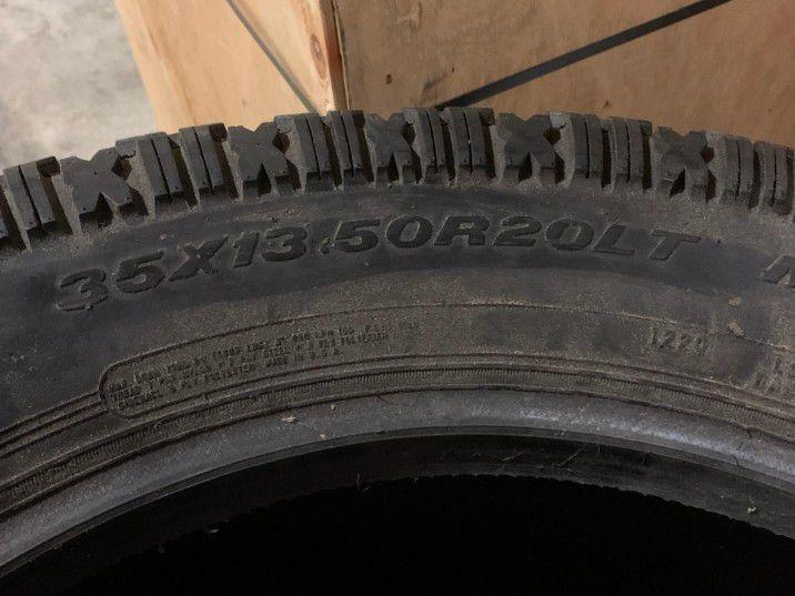 35x13.5 R20LT Tires