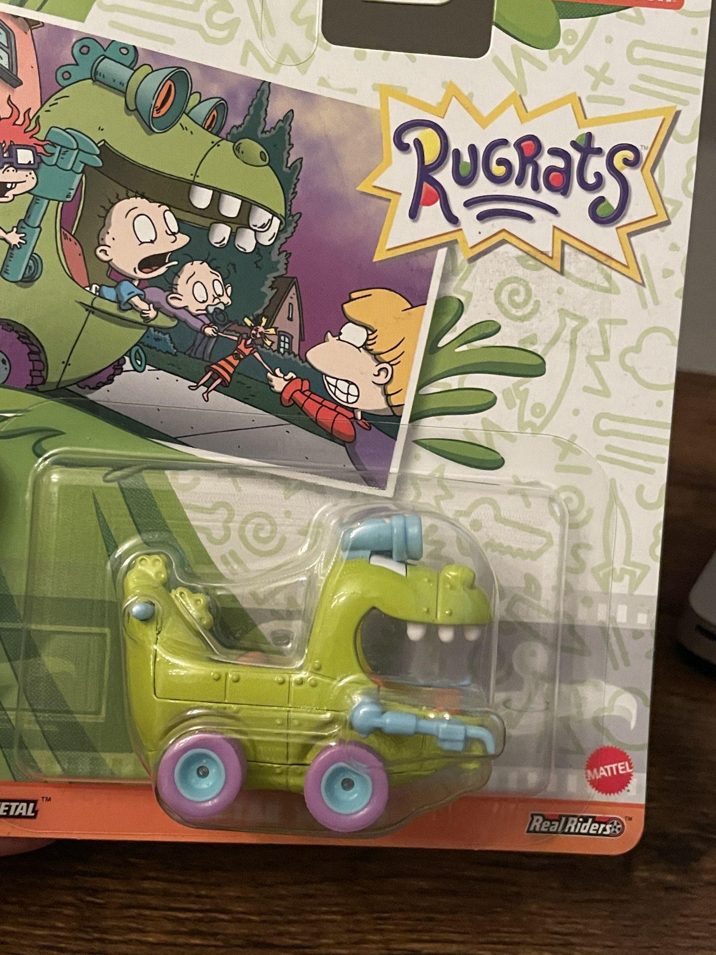Hot Wheels Rugrats Reptar Car