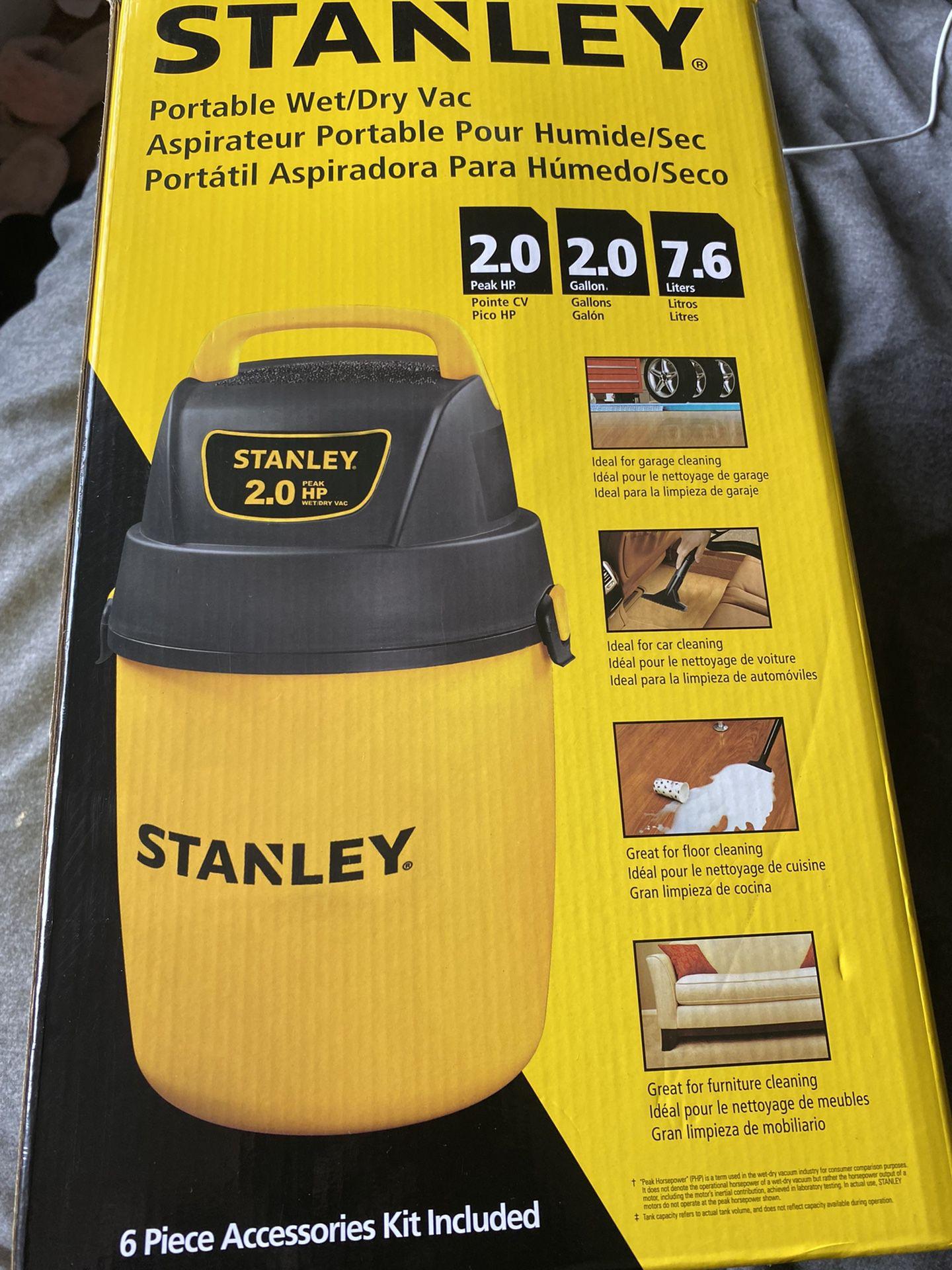 Stanley 2.0 Wet/Dry Vacuum