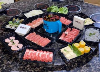 Electric Hot Pot with Steamer Thumbnail