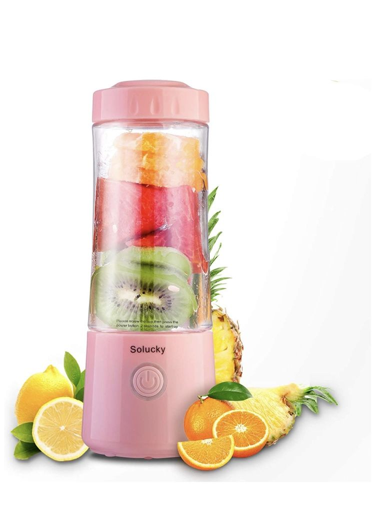 Portable Personal Size Blender,Usb Rechargeable Mixer for Smoothie