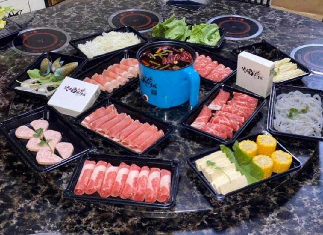 Electric Hot Pot with Steamer