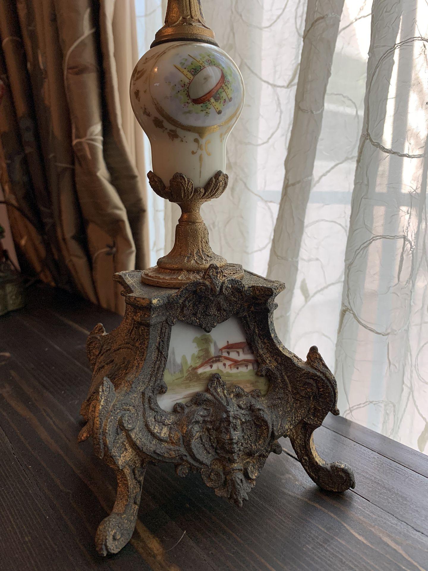 Vintage Gilt Bronze/porcelain French Candelabra
