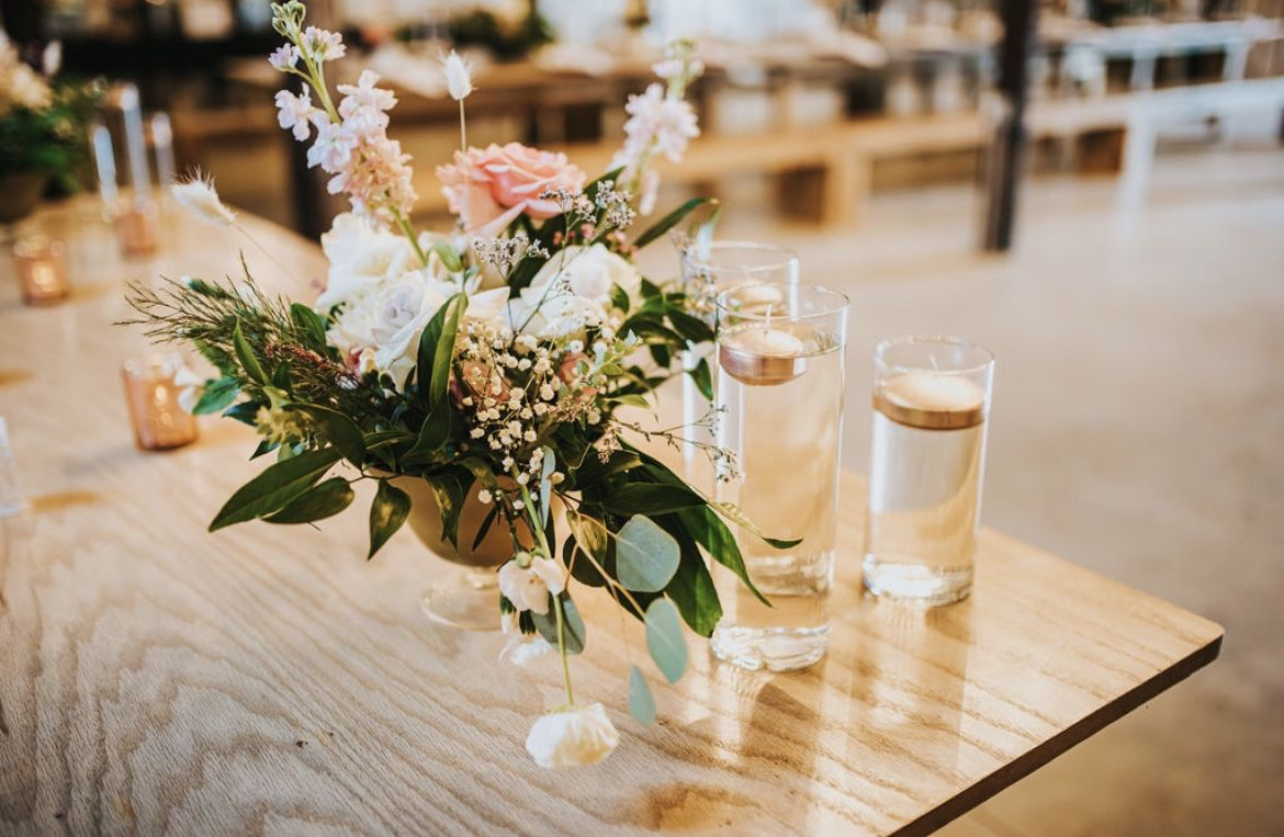 Glass Candle Holder Vases For Event Weddings