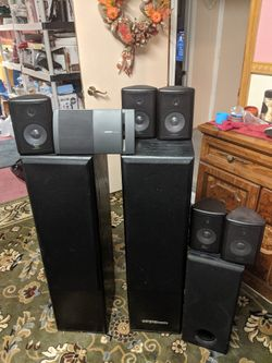 Speaker souround sound Digital pro audio Bose home theater Thumbnail