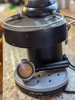 Krupps Espresso Maker and Milk Steamer Thumbnail