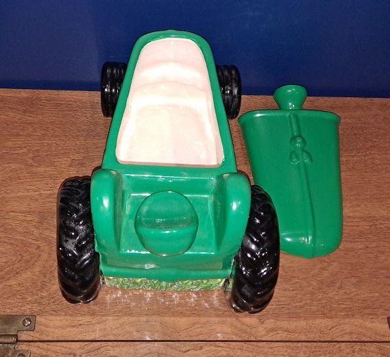 Tractor Cookie Jar