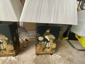Vintage Asian Lamps With Beautiful Design  Thumbnail