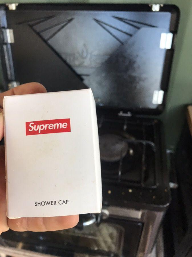 Supreme shower cap $20