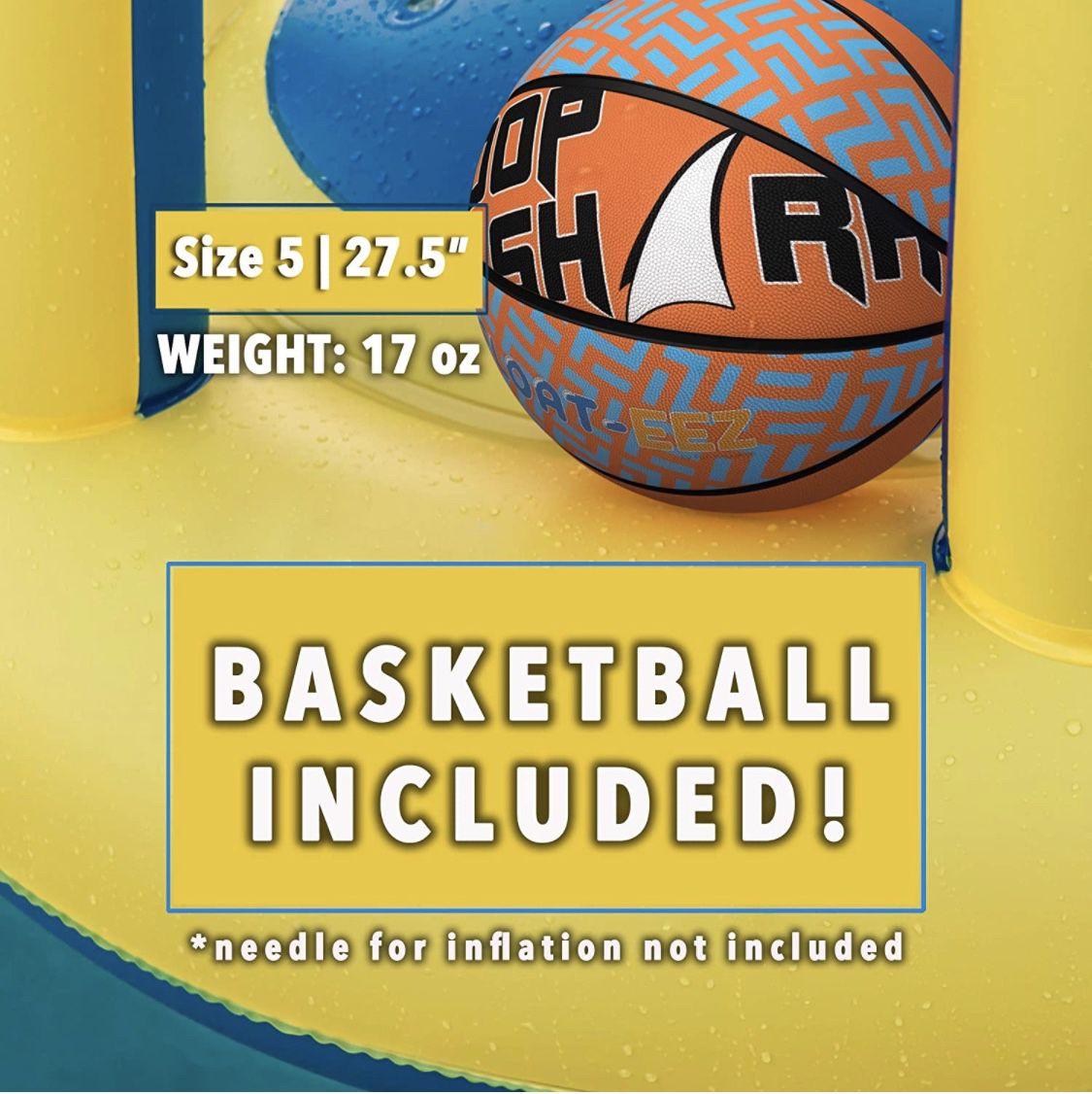 Pool Basketball Hoop Set (new In Box)