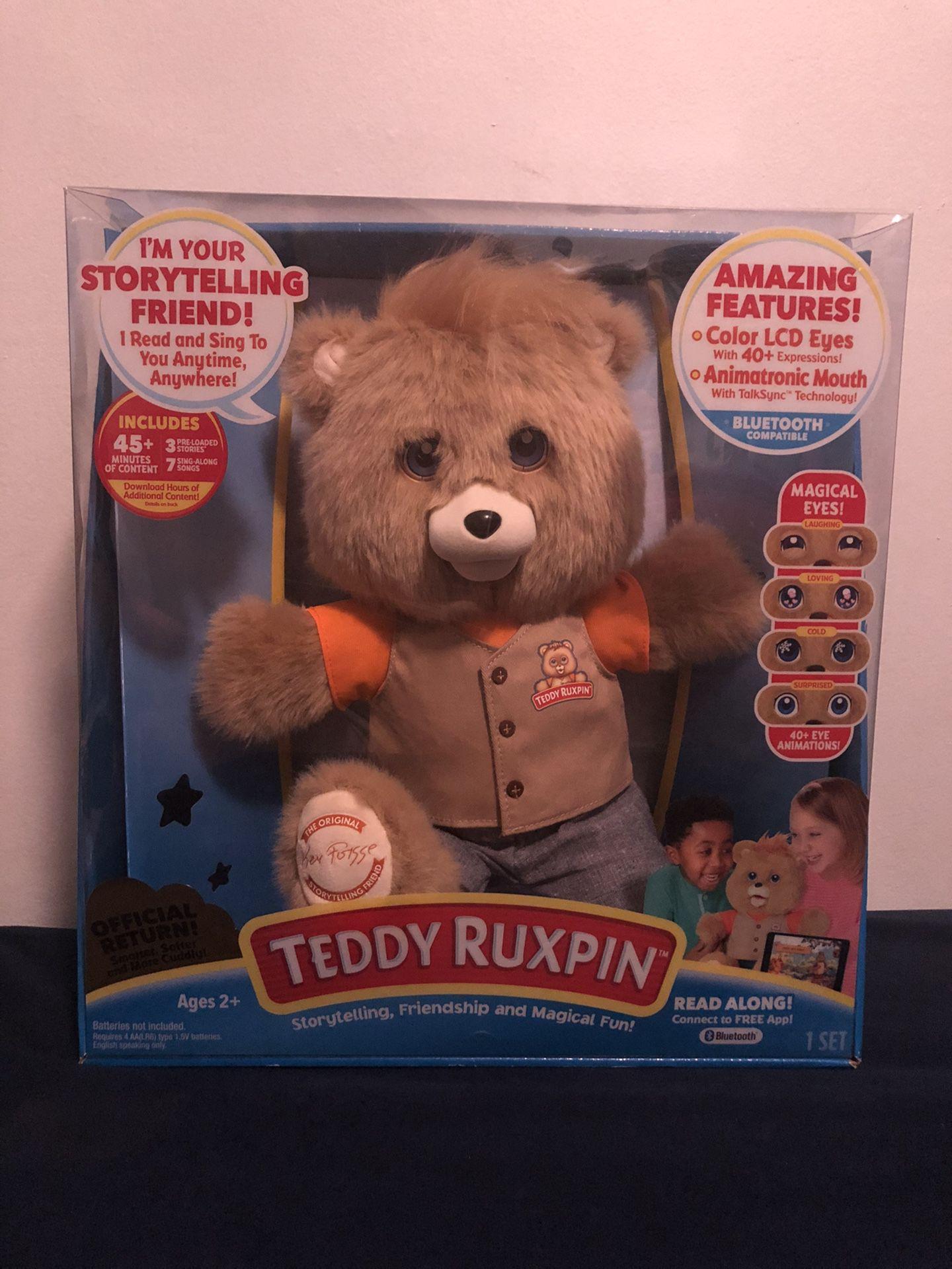 Teddy Ruxpin Official Return